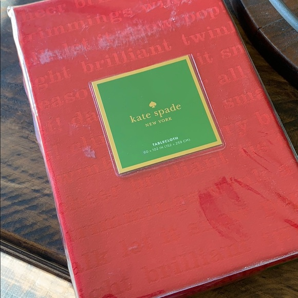 kate spade Other - Brand new Kate Spade tablecloth